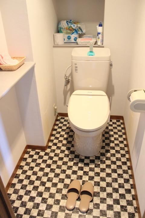 ゆったりとした清潔感のあるトイレで嬉しいですね 落ち着く空間をお約束します
