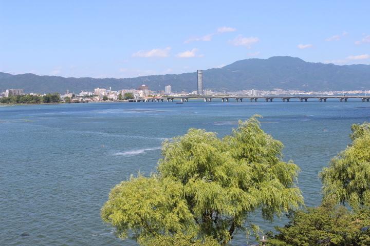 琵琶湖が一望♪ 花火大会もご覧いただけます!