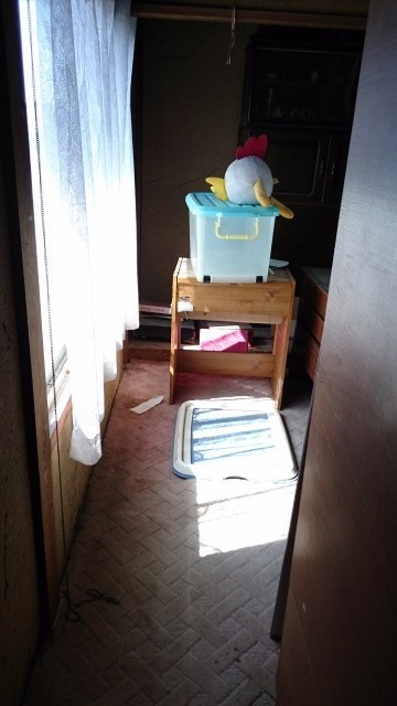 2階のお部屋も日差しが入ります。