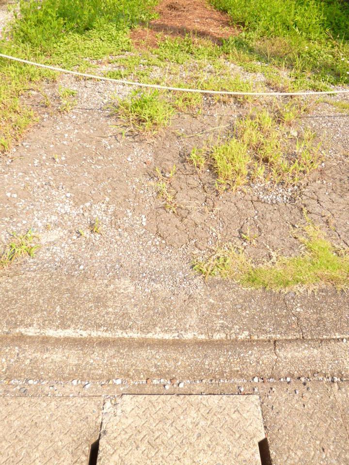 前面道路境界線を含む写真