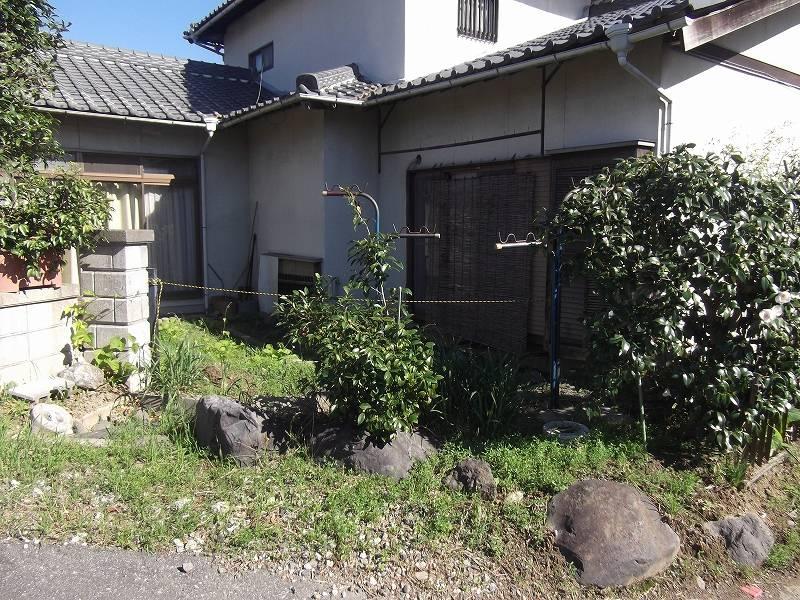 古家 裏側(北側)