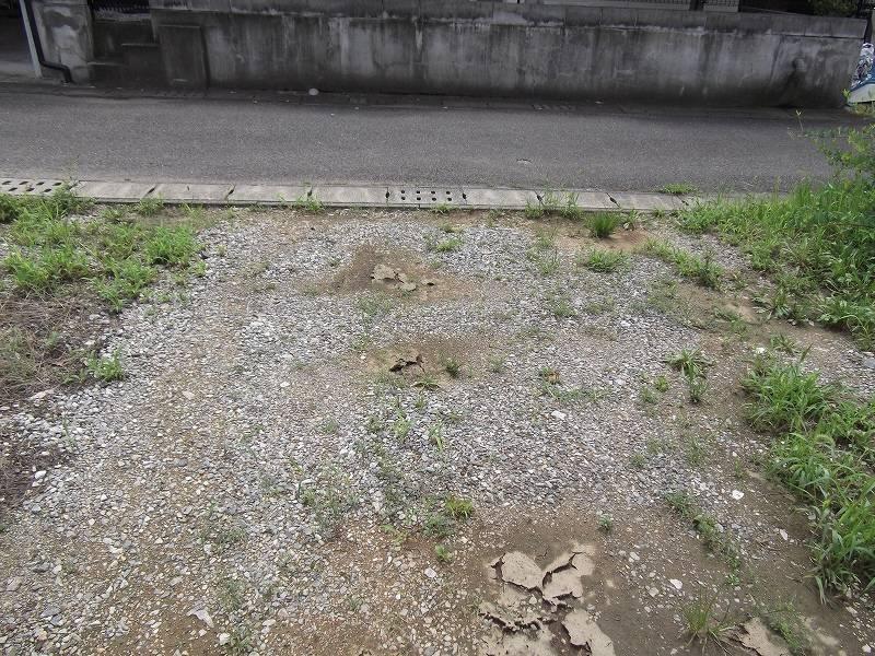 物件南側の道路を含む写真 北側から撮影