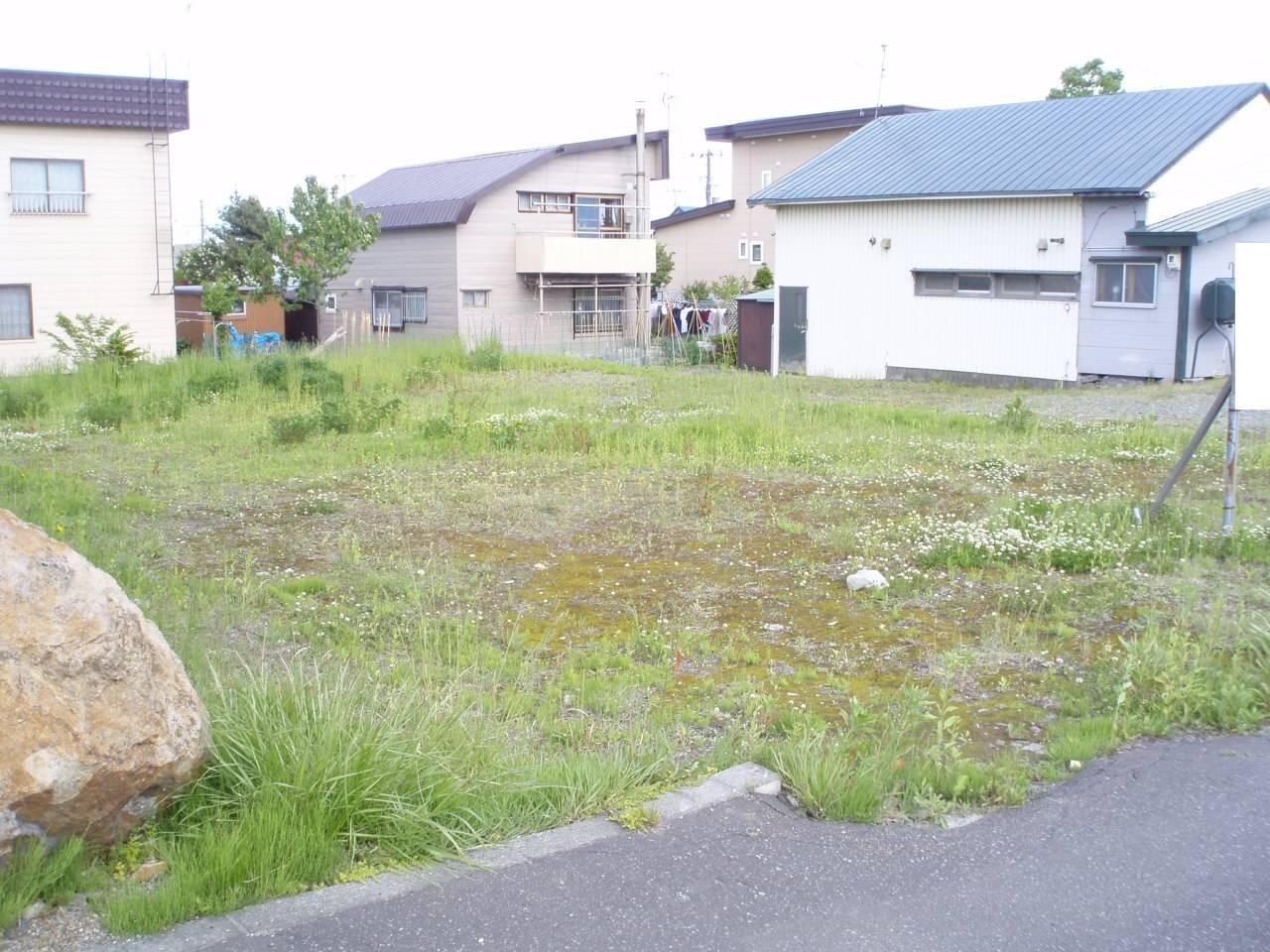 江別市東光町の、売土地です