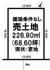 売土地/江別市 画像3
