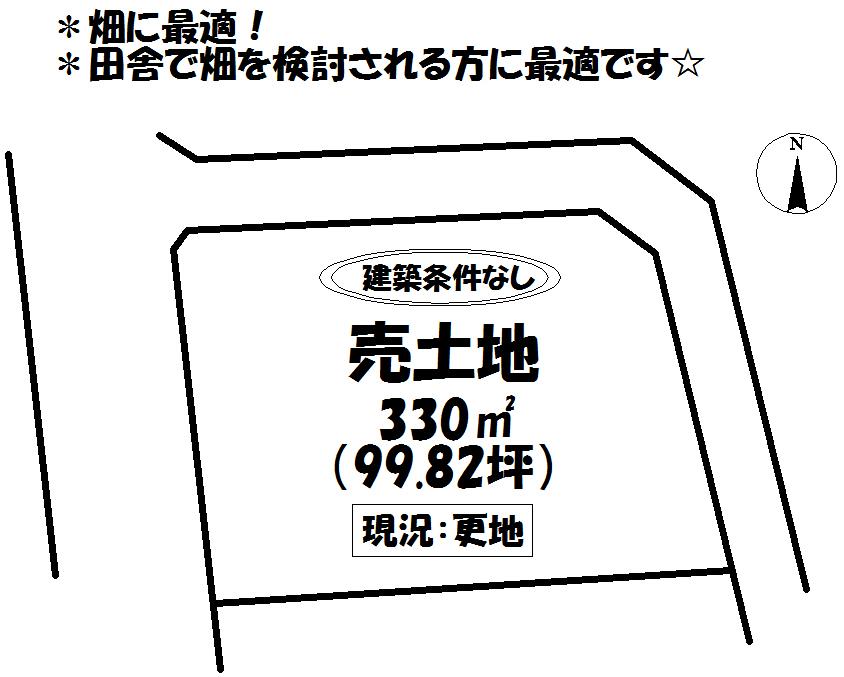 【区画図】 太陽光用地としても可能です☆ ※一般建築不可