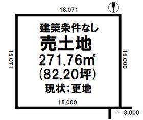 売土地/江別市 画像2