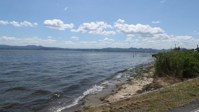 家からは宍道湖を一望できます。