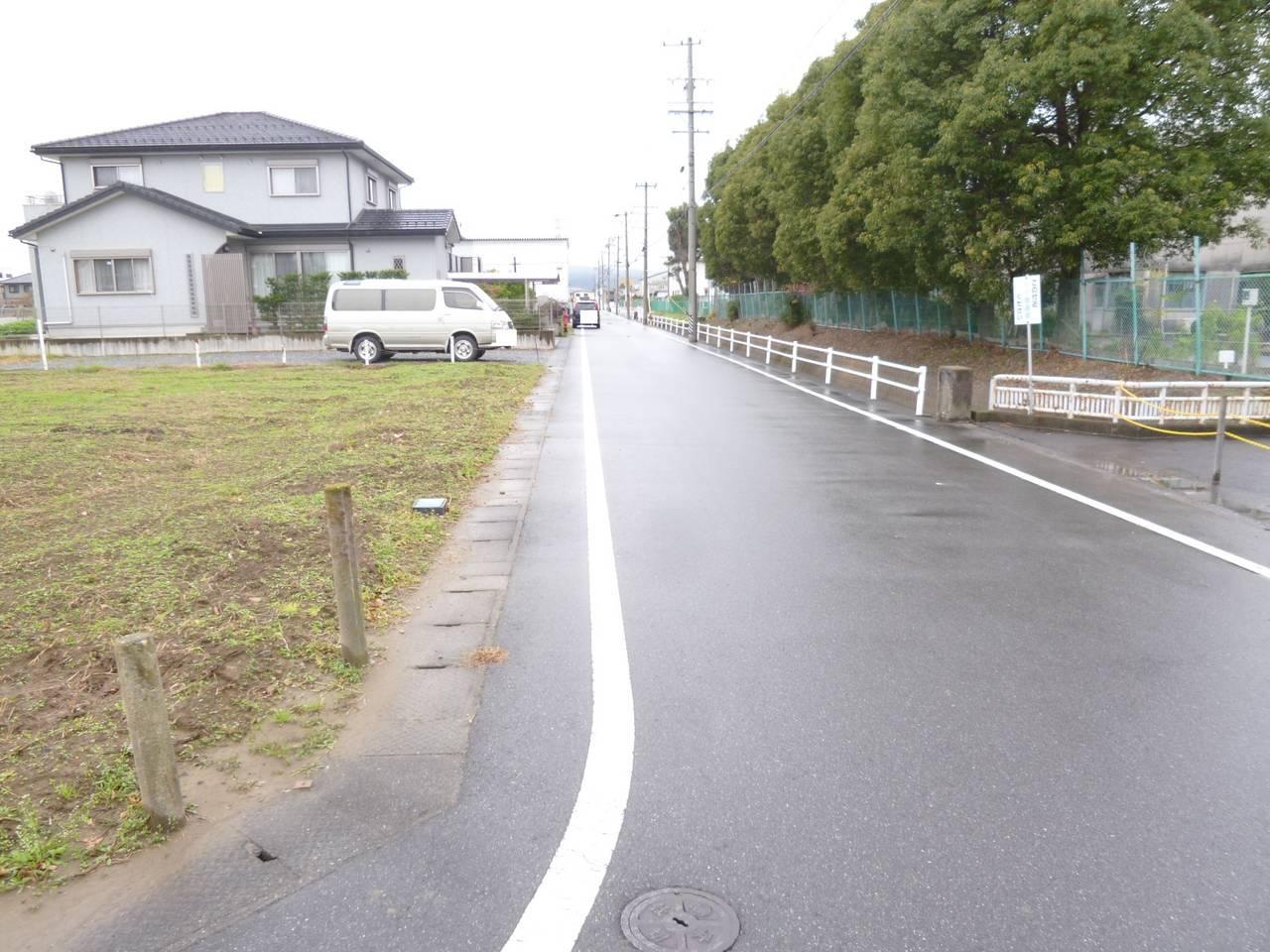 東から北側道路