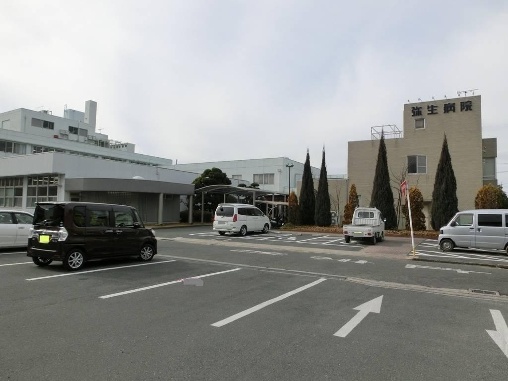 【病院】弥生病院まで徒歩5分(350m)
