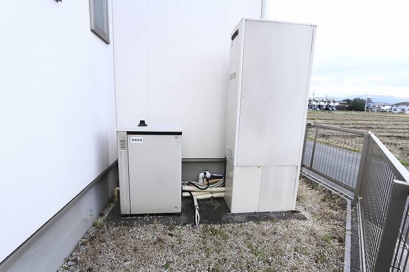 ガス発電排熱給湯システム『エコウィル』設置