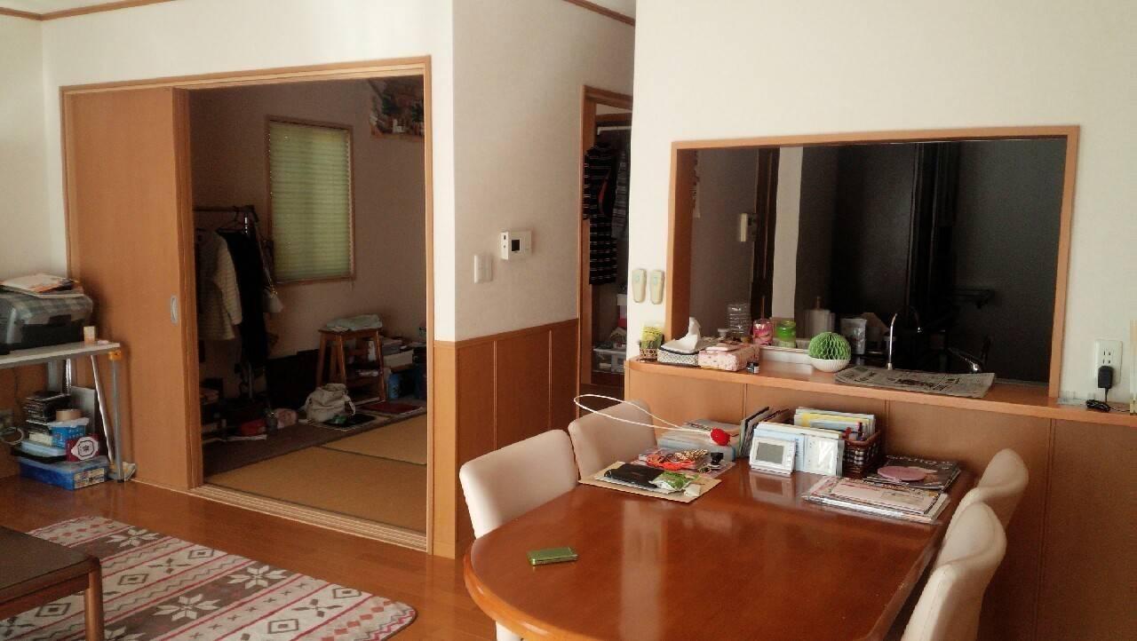 和室と合わせると26帖の広々空間に!