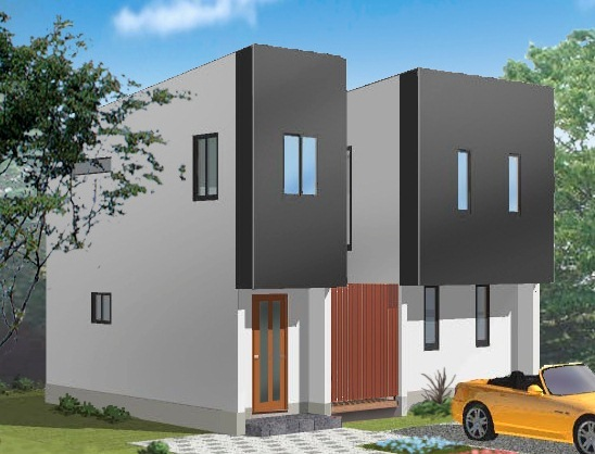24パターンから選ぶ・ハイクオリティのローコスト企画住宅「シェリーメイゾン」完成イメージです。 ※株式会社レオック(オノコムグループ)