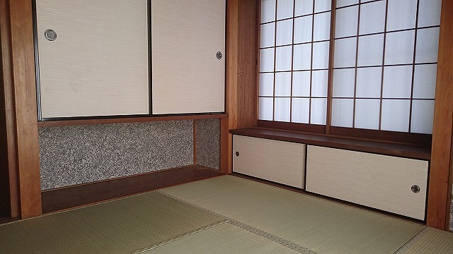 玄関横の独立型の和室は、客間としてお使い頂けます。