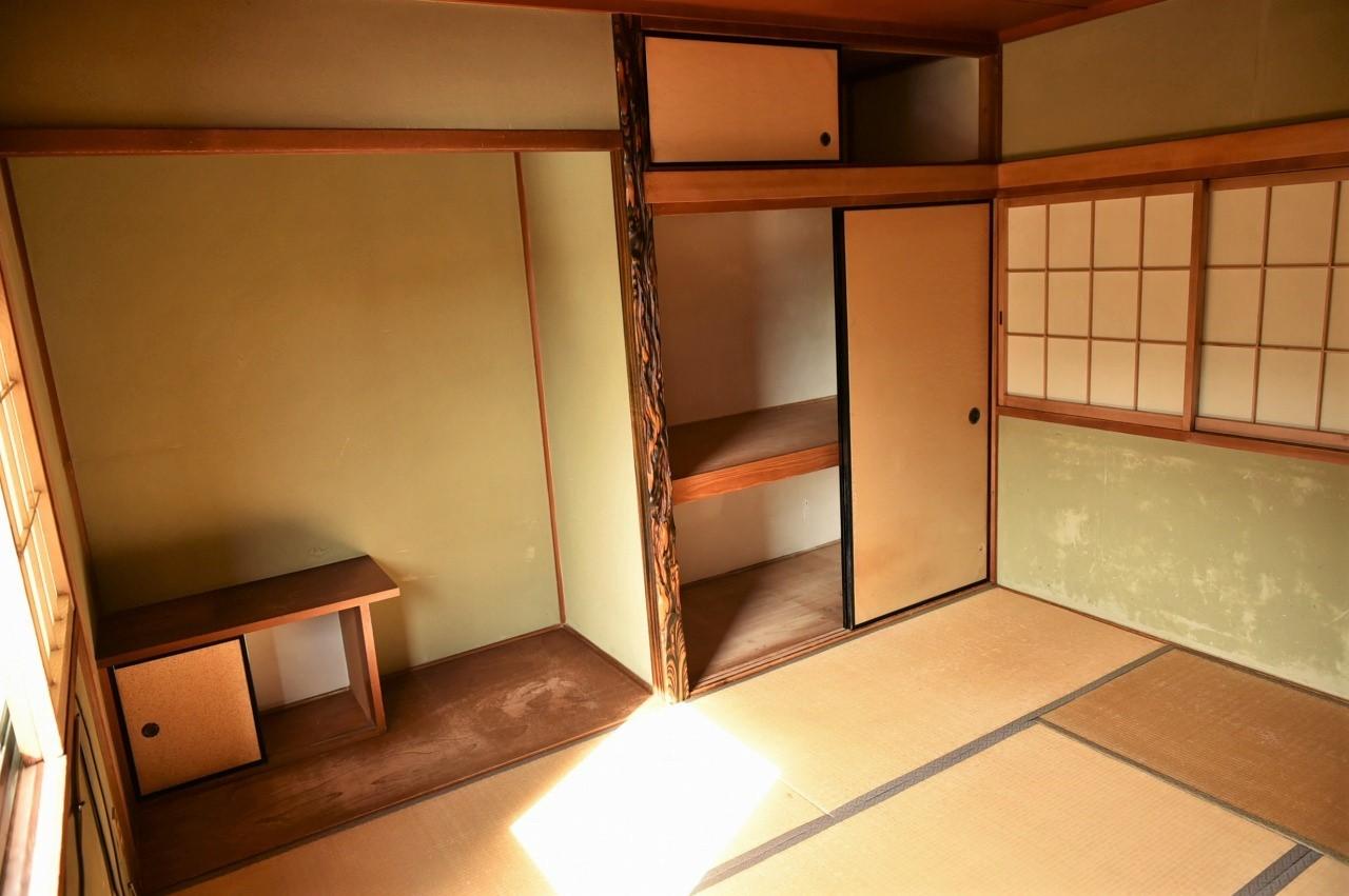 広々とした和室空間♪和みますね