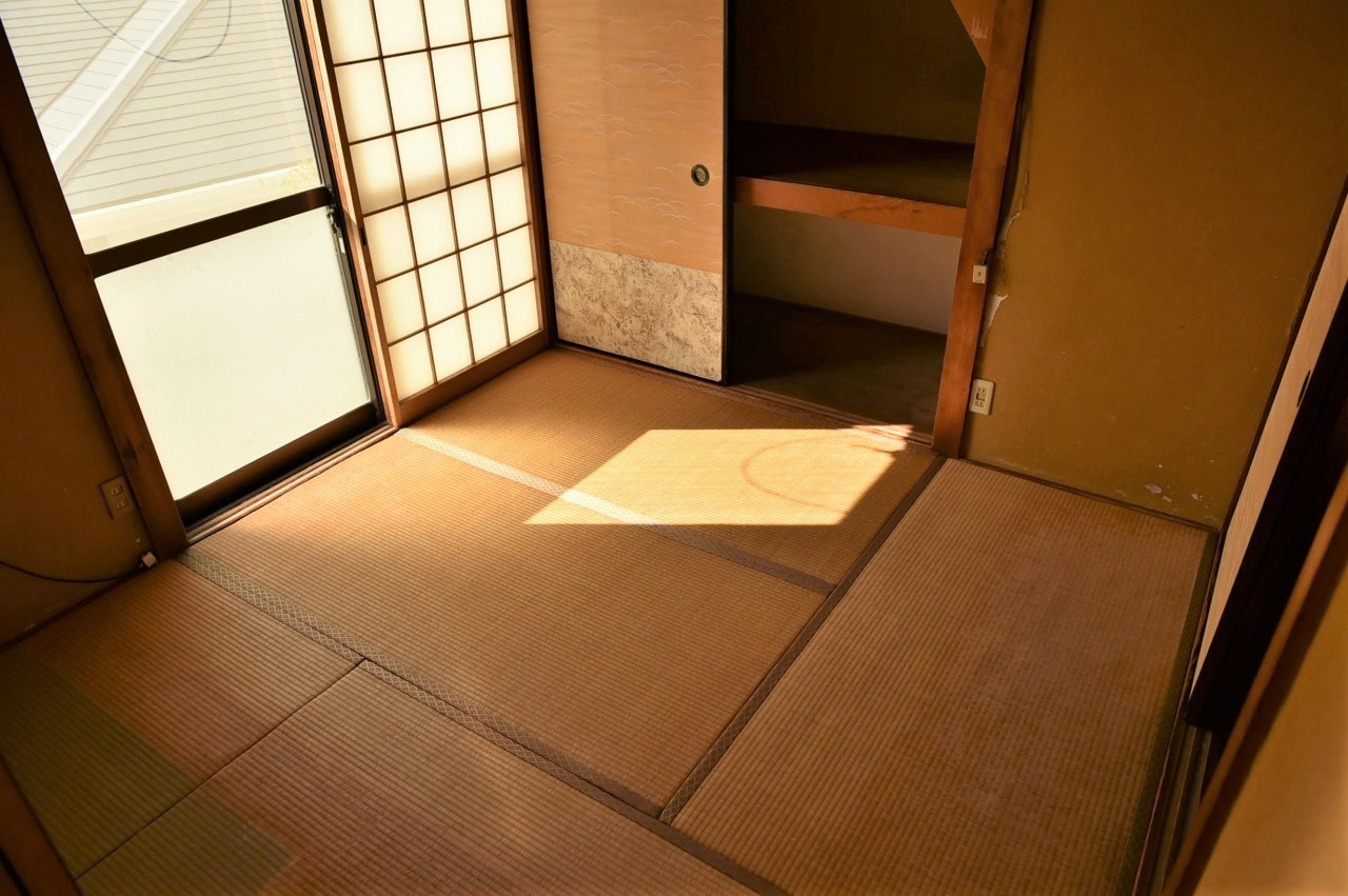 畳が落ち着く和室