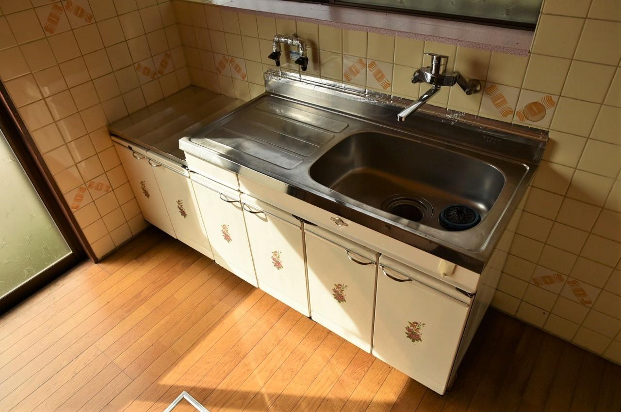 調理スペースばっちりのキッチン