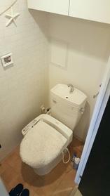 ウォシュレット付トイレ(2017年7月撮影)