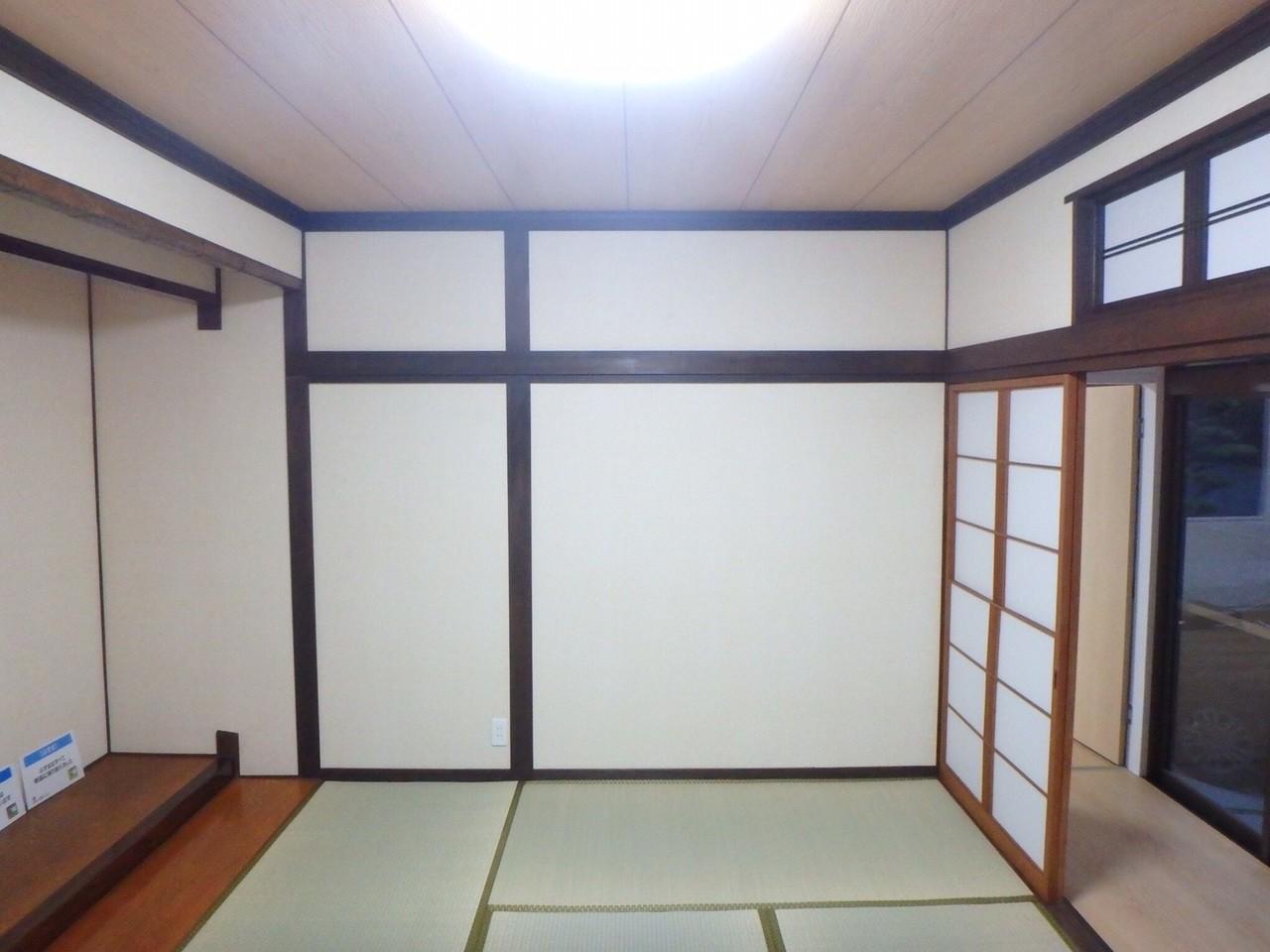 客間として使える和室は、重宝します。