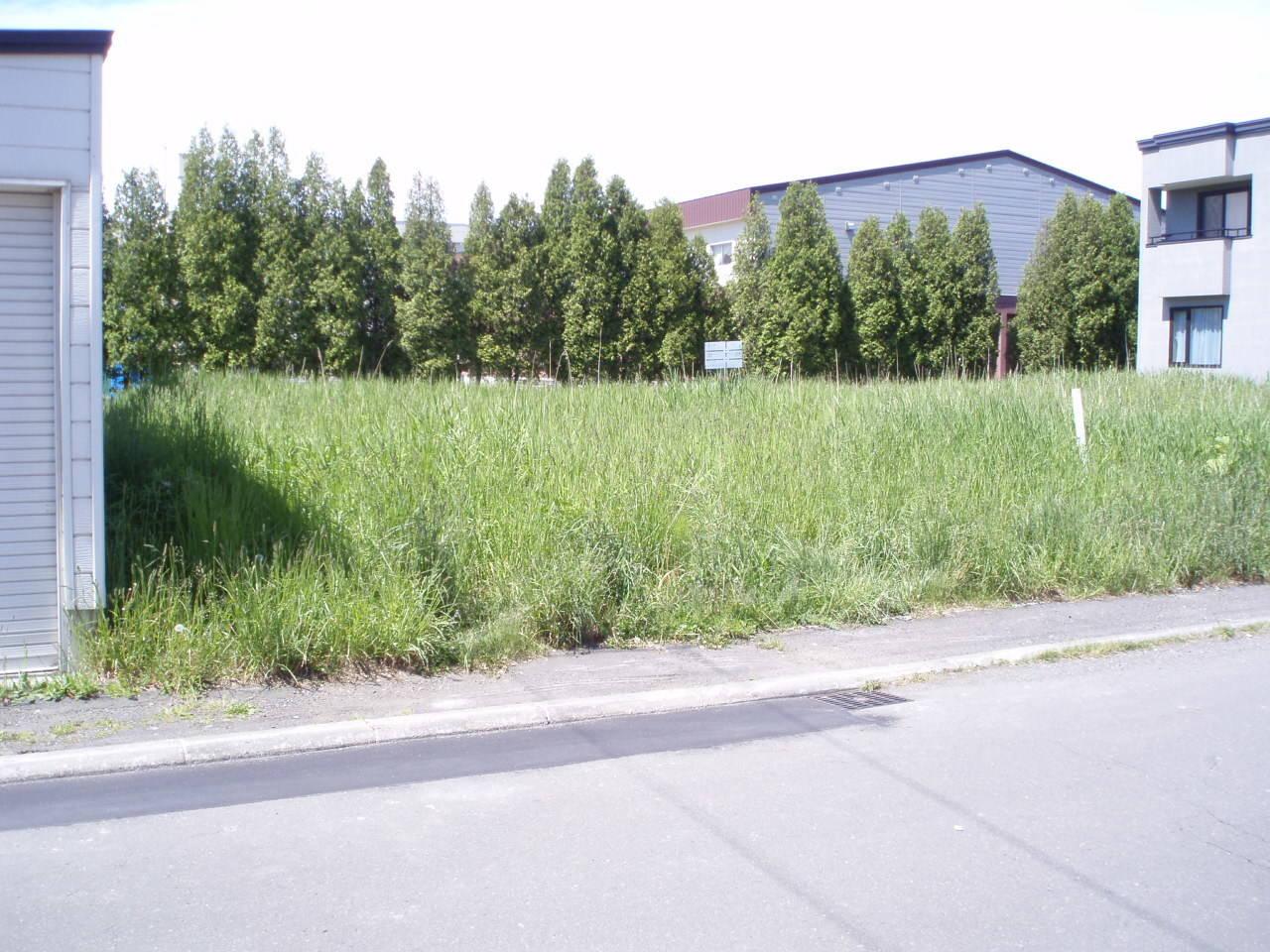 江別市萌えぎ野中央の、売土地です