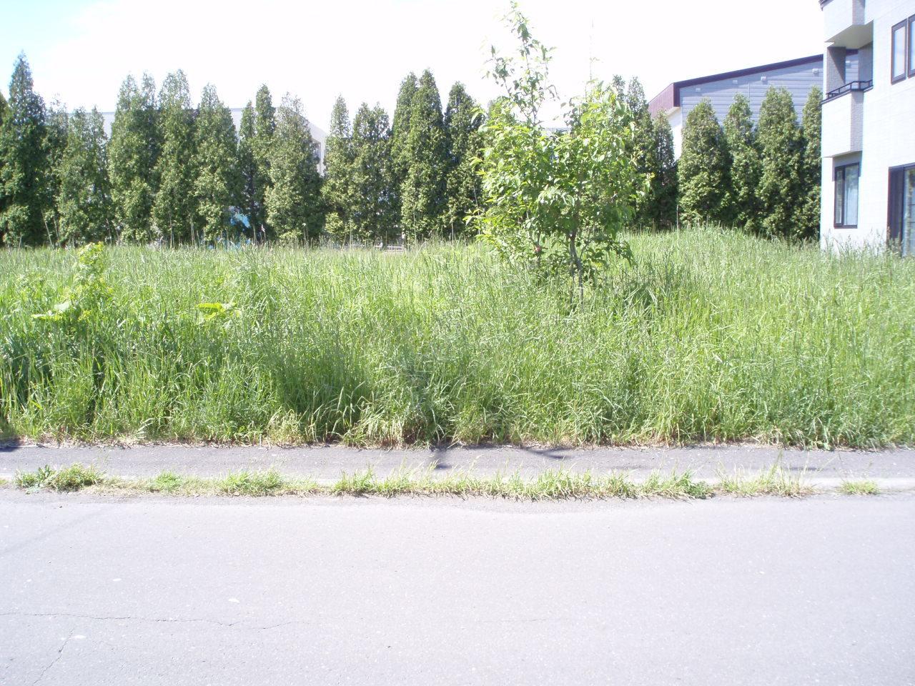 【外観写真】 江別市萌えぎ野中央の、売土地です