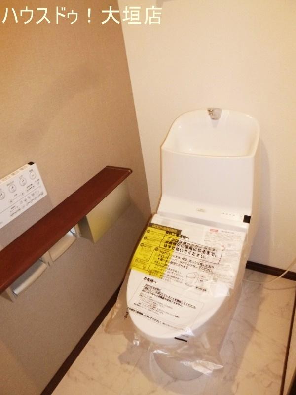 トイレも交換済み。気持ち良くお使い頂けます。