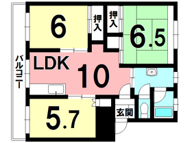 日新町ハイツ/苫小牧市 画像3