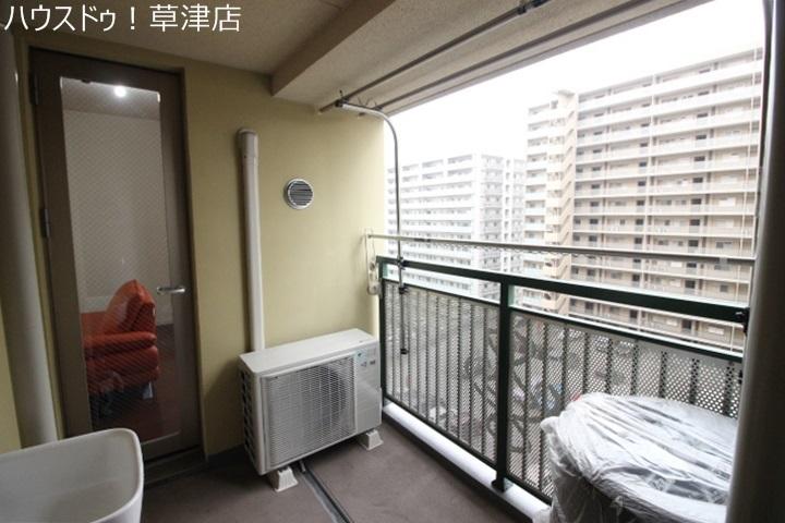 10階部分なので眺望通風良好です。心地いい風がお部屋を吹き抜けます。