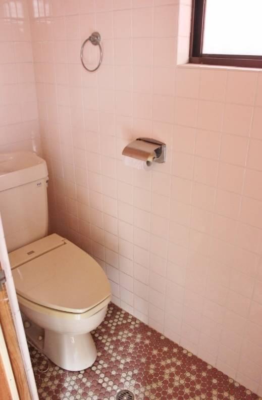 洋式のトイレです。