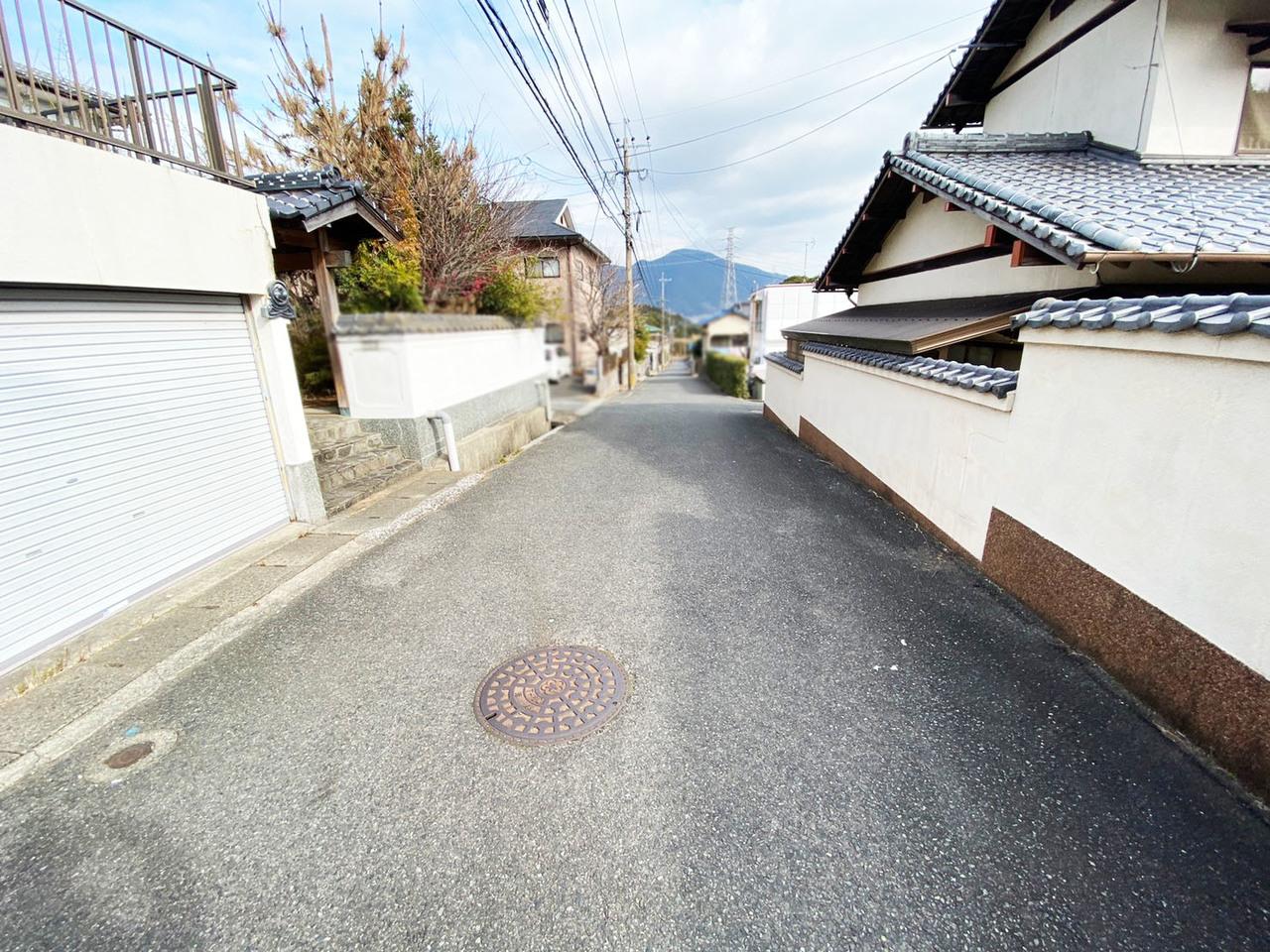 ◆小倉南区横代葉山 戸建て♪ 交通量の少ない道路です♪