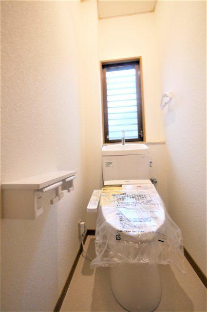 トイレ◆北九州市小倉南区舞ヶ丘・南西角地のオール電化4LDK戸建て住宅♪カーポート付き♪