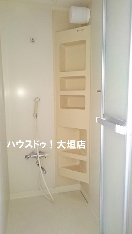 あると便利なシャワー室