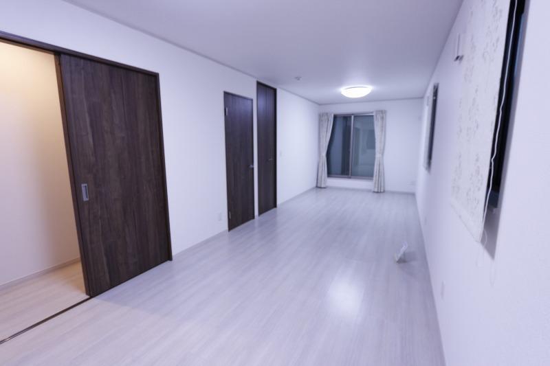 寝室にはWICを採用。たっぷり収納できてお部屋はいつもスッキリ!居住空間を広く感じていただくための工夫が、随所にみられるのも特徴です。
