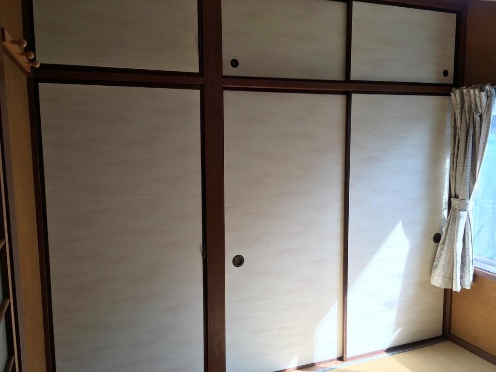 和室が二間 洋室が一間 4DKの間取りです。