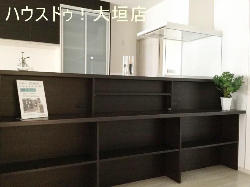 飾り棚としても、収納棚としてもご家族のアイデアでご使用できます。