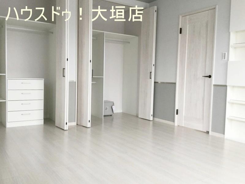 収納できてお部屋はいつもスッキリ!居住空間を広く感じていただくための工夫が、随所にみられるのも特徴です。
