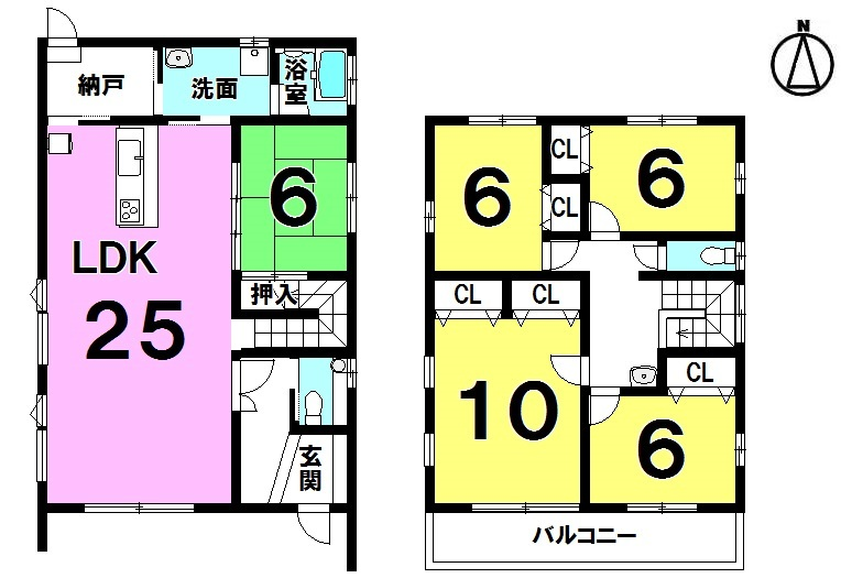 【間取り】 ・5LDK ・太陽光10kw売電単価29.16円(税込)/1kw