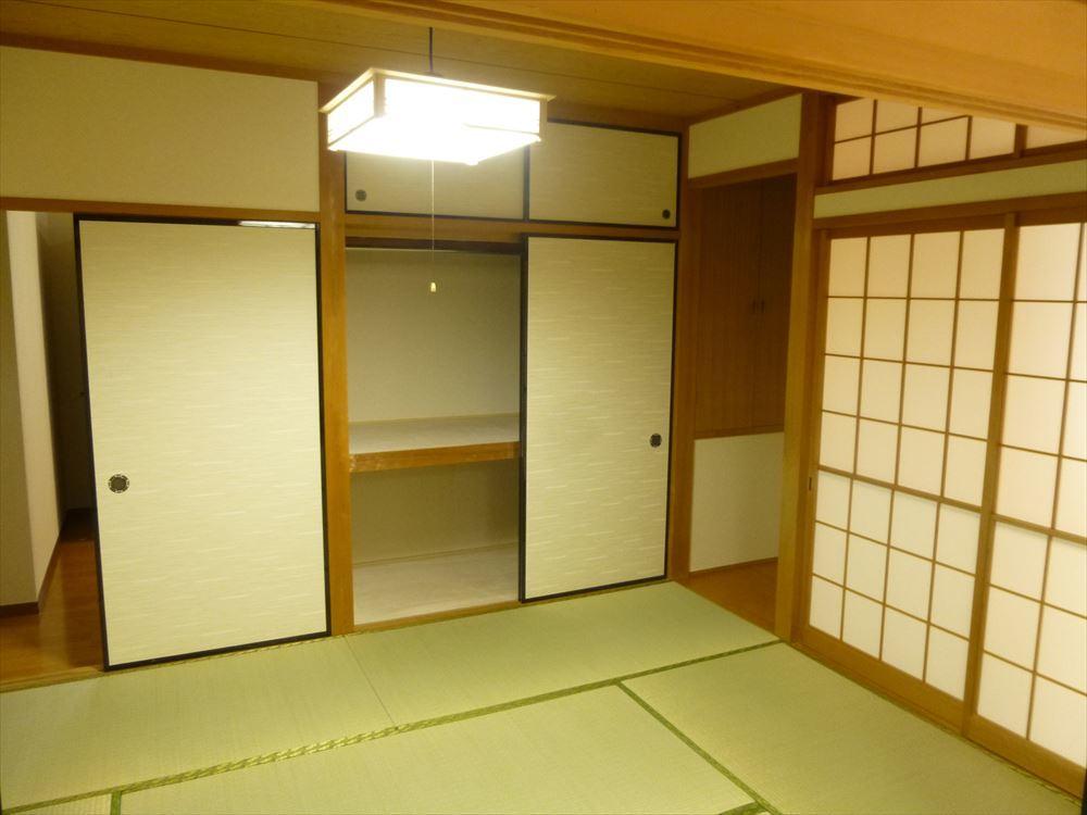 3部屋も和室があります!客間としても家族のくつろぎの部屋としても、使い方いろいろです!フローリングの良さとはまた違う良さが畳にはありますね◎