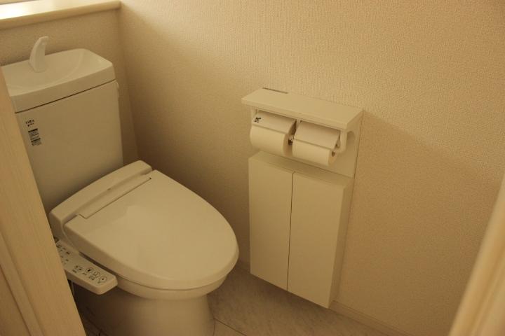 使い勝手のよいトイレです
