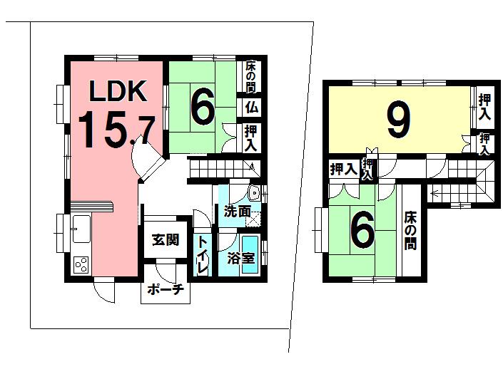 【間取り】 3LDKの間取りを、ご家族の使用目的に合わせて4LDKに変更することも出来ます◎ お気軽にご相談ください◎