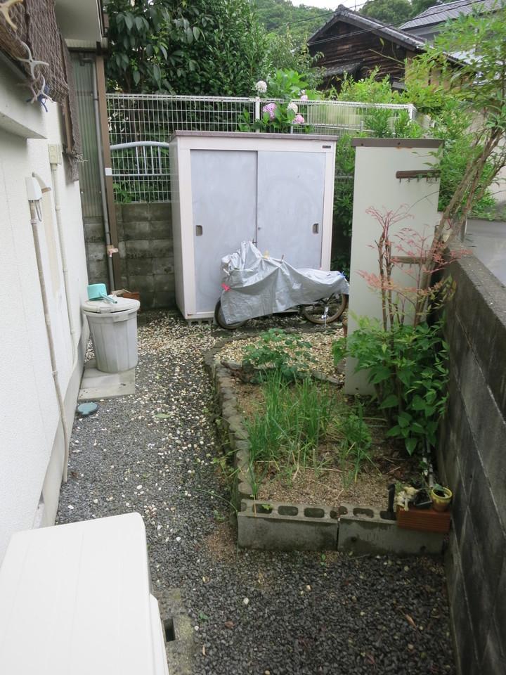 家庭菜園ができる庭