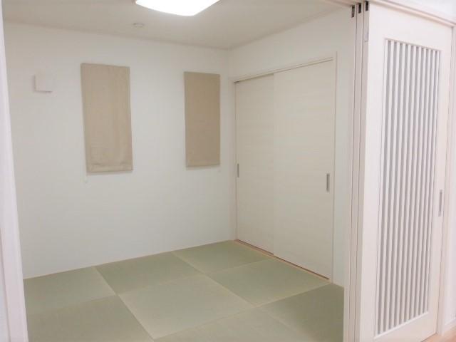 オシャレな4.5畳の和室 様々な用途に使える和室があるのは便利です