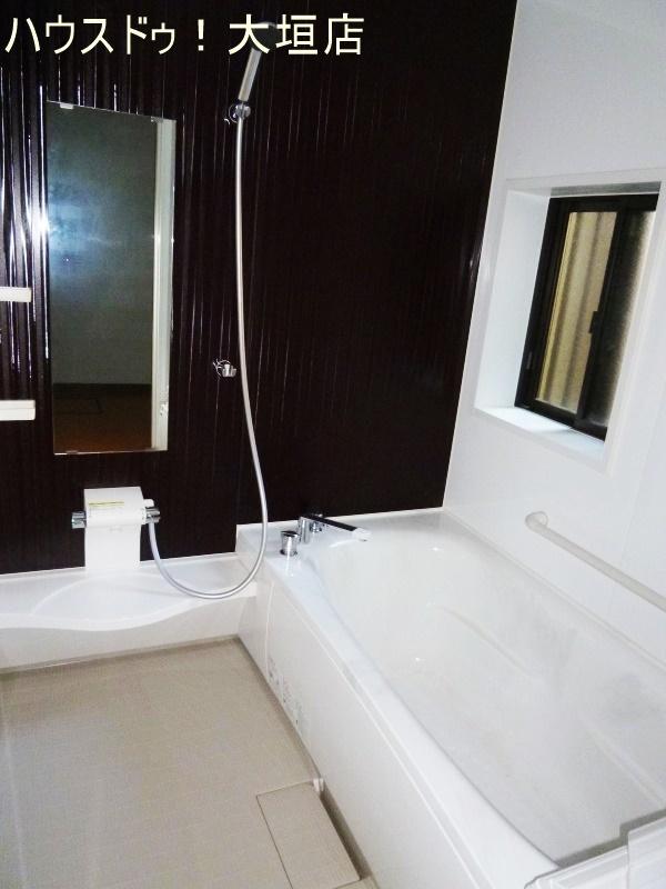 落ち着く浴室。