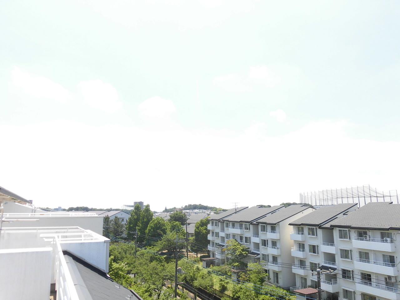 ルーフバルコニーの眺望