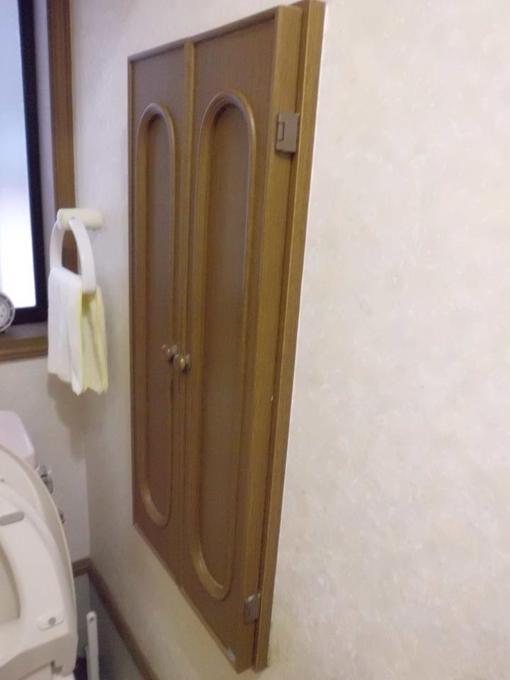 トイレにも収納あります!