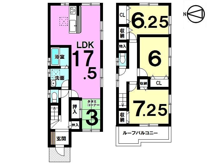 【間取り】 桜井駅まで徒歩5分! 買い物・病院なども徒歩圏内で 大変便利な立地です。
