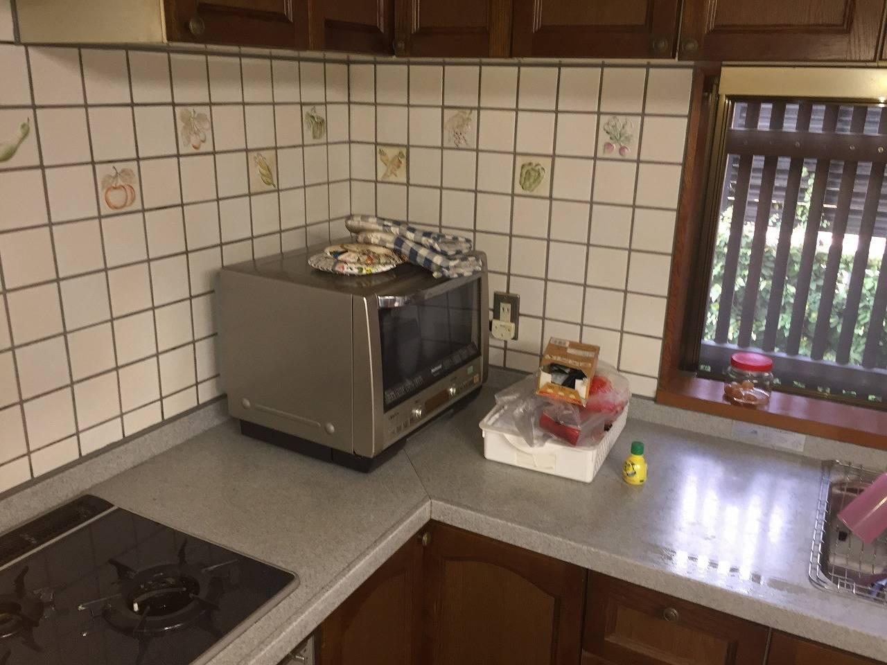 L字型キッチンで使い勝手も良いです