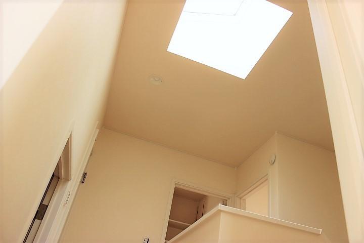 天窓から降り注ぐ光が素敵ですね
