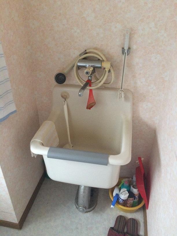 バリアフリーのトイレのそばには、洗い場も完備♪あかちゃんがいるご家族や、介護中のご家族にやさしい設備がいっぱい!!