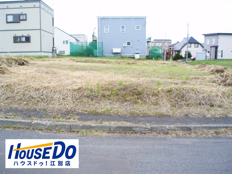【外観写真】 江別市豊幌美咲町の、売土地です