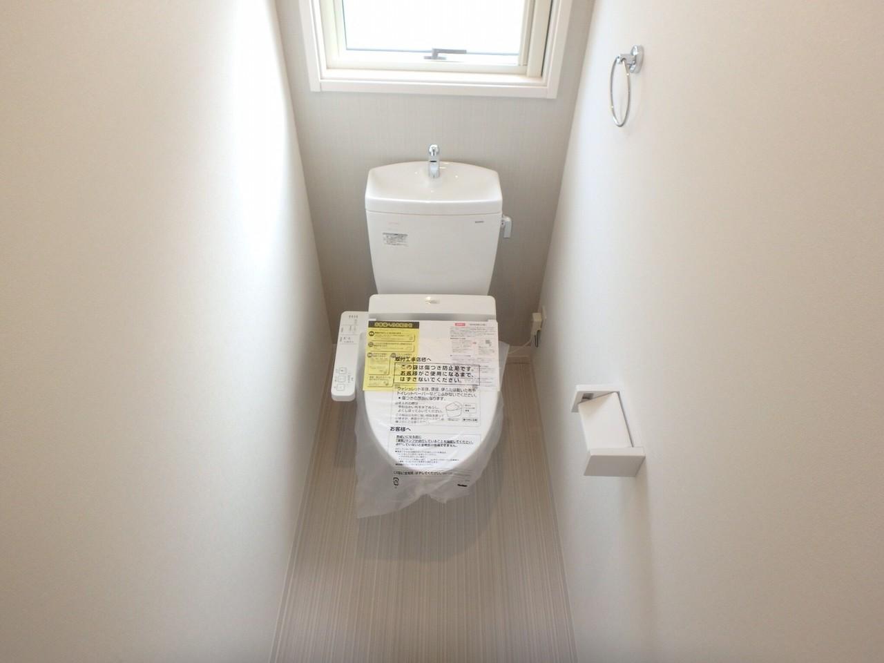 2階にもトイレがあります!